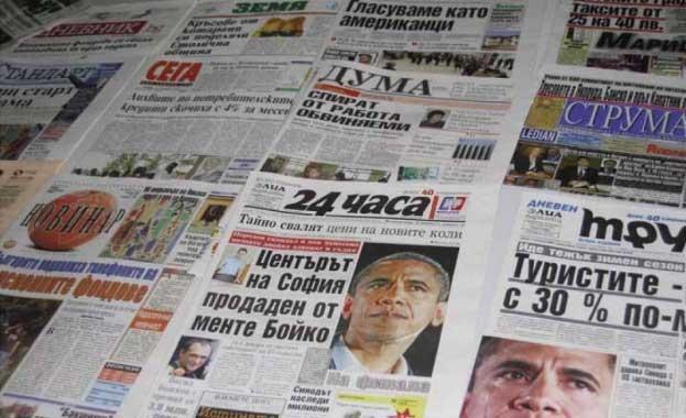 Смайващ срив на вестникарските тиражи, предстоят фалити.
