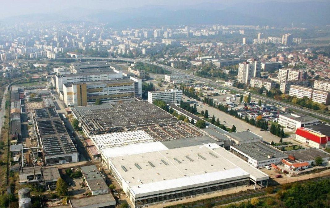View from Business park Stara Zagora