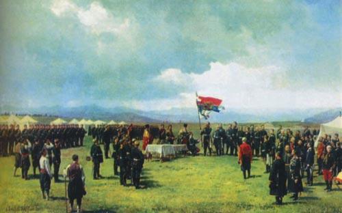 Как Българското опълчение спаси Самарското знаме