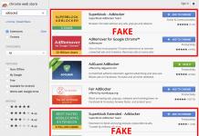 fake adblockers chromewebstore 1