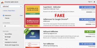 fake adblockers chromewebstore 1