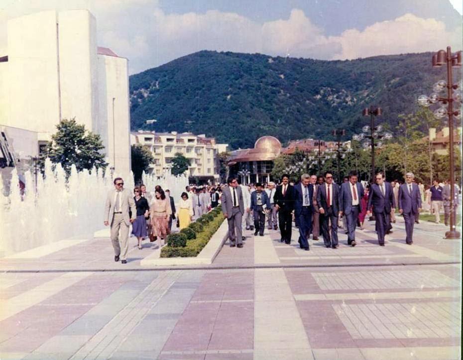 oseshtenieto na rakovoditelite na diplomaticheskite misii akreditirani u nas v obnovenia tsentar na blagoevgrad1987