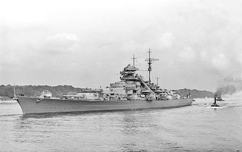 Bundesarchiv Bild 193 04 1 26 Schlachtschiff Bismarck