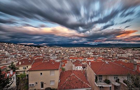 540px View of Kozani