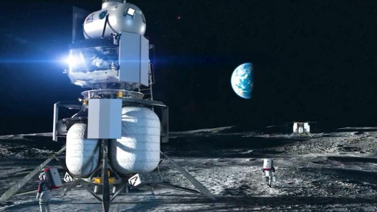 НАСА и Nokia монтират 4G на Луната