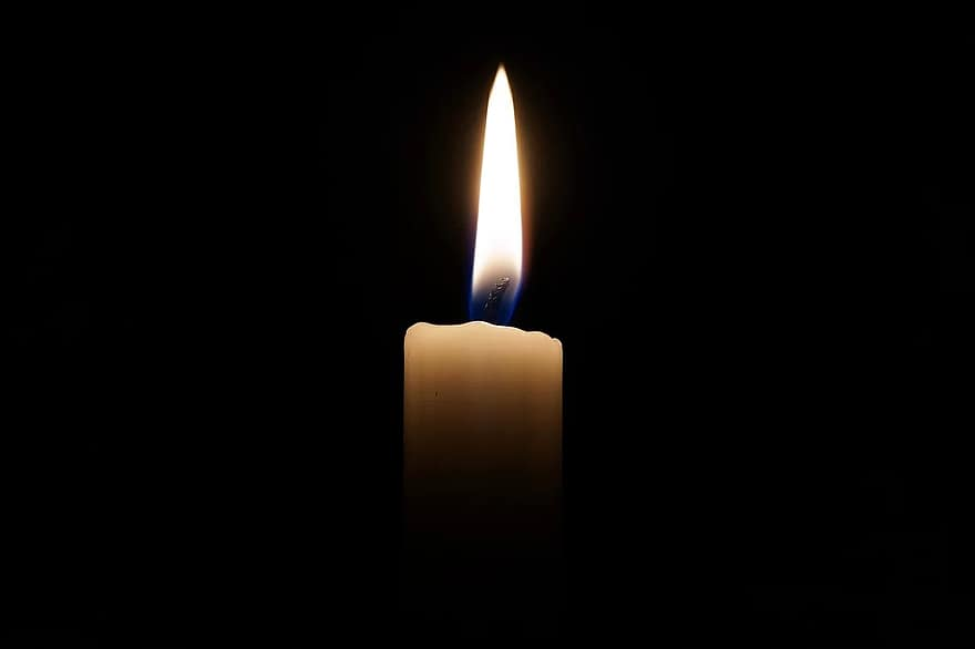 candle light candlelight flame shiny mood romantic mourning death