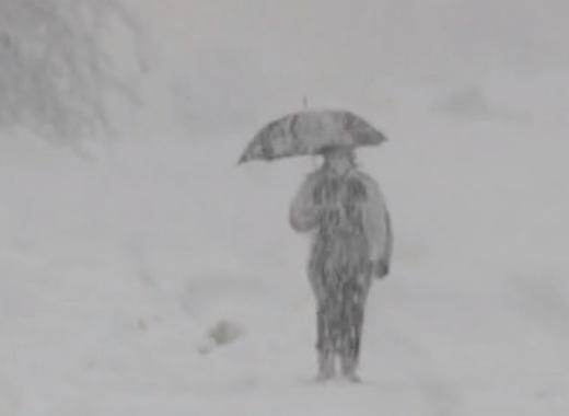 Снежен ад в Италия