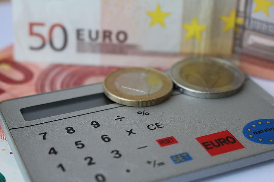 euro count calculator dollar bill