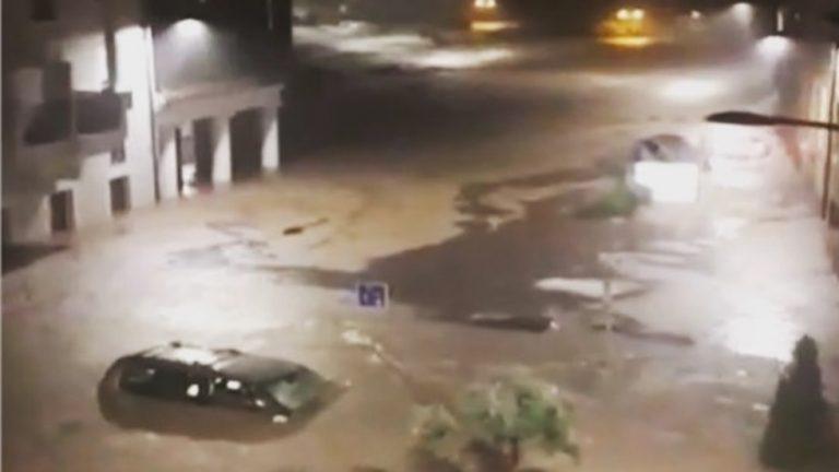 Потоп удари Испания
